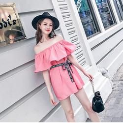 Váy đầm suông trễ vai cực xinh cho các bạn gái ngày hè