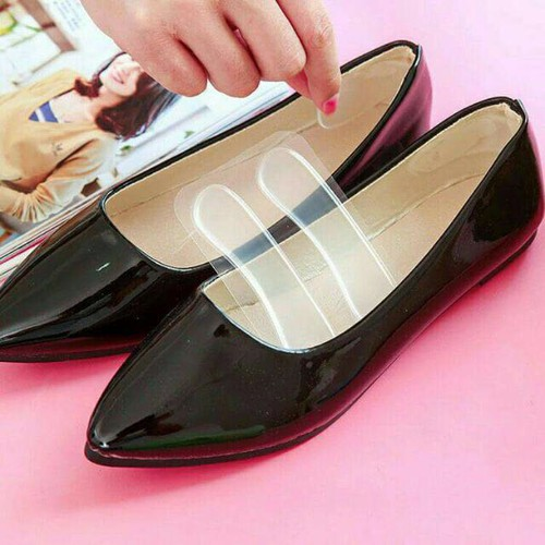 Lót giầy êm gót chân silicon