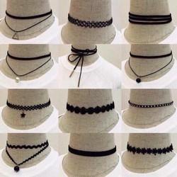 Sét 12 món phụ kiện trang trí cổ cho nữ