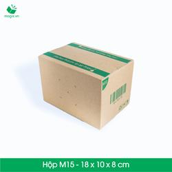 20 Thùng hộp carton - Mã M15 - Kích thước 18x10x8 cm