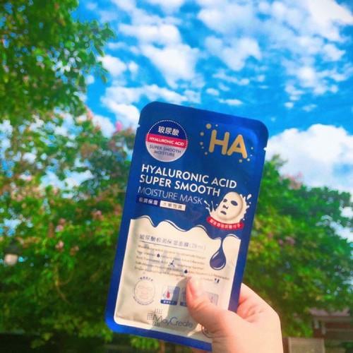 Hộp 20 miếng mặt Nạ HA Xanh dưỡng ẩm