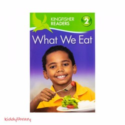 Sách tập đọc tiếng Anh hay Kingfisher Readers What We Eat