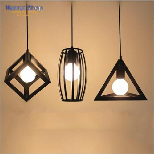 Worldmart bộ 3 đèn led thả trần trang trí phong cách cổ điển quý tộc vintage