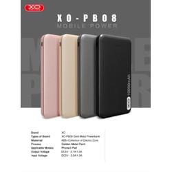 Pin dự phòng chính hãng XO PB08 10000 mAh - BH 12 tháng