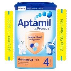 Sữa Bột Aptamil 4 900g Cho Trẻ 2-3 Tuổi