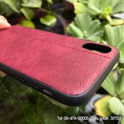 Ốp lưng da iPhone X sang trọng