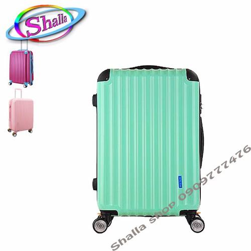 vali 24inch sộc bộc gốc Shalla corner màu đen ,xanh ,đỏ, xám