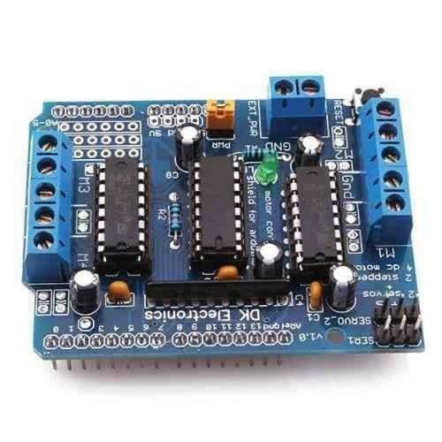 Arduino Motor Shield L293D - 10603912 , 9149919 , 15_9149919 , 47000 , Arduino-Motor-Shield-L293D-15_9149919 , sendo.vn , Arduino Motor Shield L293D