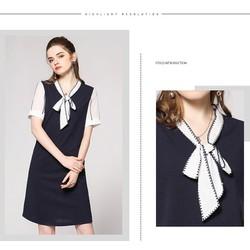Váy suông xinh xắn cột nơ IT533