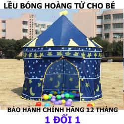 Lều Bóng Xanh Hoàng Tử Cho Bé Vải Cao Cấp