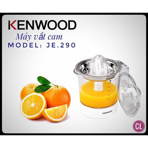 Máy vắt cam Kenwood JE290 chính hãng - 5460014 , 9147448 , 15_9147448 , 650000 , May-vat-cam-Kenwood-JE290-chinh-hang-15_9147448 , sendo.vn , Máy vắt cam Kenwood JE290 chính hãng