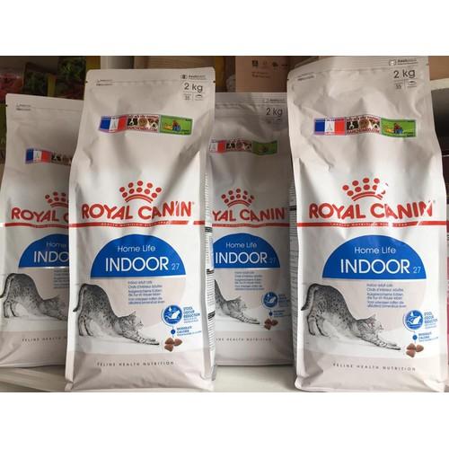 Thức ăn hạt cho mèo Roy-al Canin Indoor 27 - 2kg