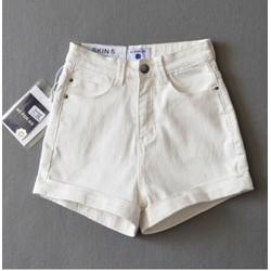 quần short lưng cao