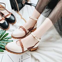 Giày búp bê nữ phong cách vintage