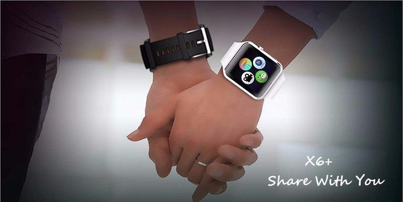 Màu Đồng hồ thông minh X6 màn hình cong