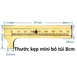 thước kẹp mini bỏ túi 8cm