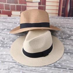 mũ nón đi biển nón panama thời trang mũ phớt nón cao bồi