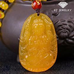 Mặt Dây Chuyền Phật Thiên Thủ Thiên NhãnĐá Topaz Cao Cấp