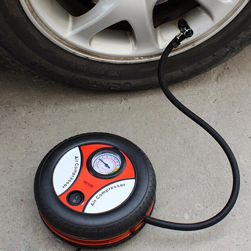 Bơm ô tô tròn mini