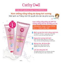 Kem chống nắng trắng da Cathy Doll SPF50 PA+++ 138ml