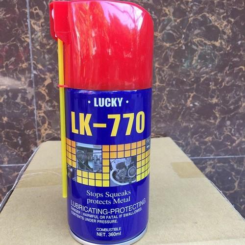 DẦU BÔI TRƠN CHỐNG SÉT LEBRICANT LK-770