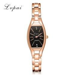 Đồng hồ nữ Lv-Pai dây thép màu cao cấp mặt oval đặc biệt