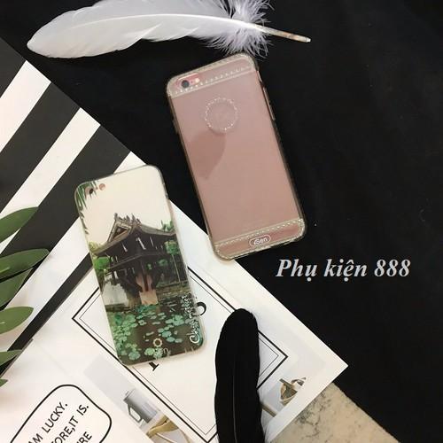 Ốp lưng iphone 6, 6s dẻo nhiều hình hiệu isen