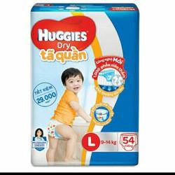 Tã quần Huggies Dry Pants L54