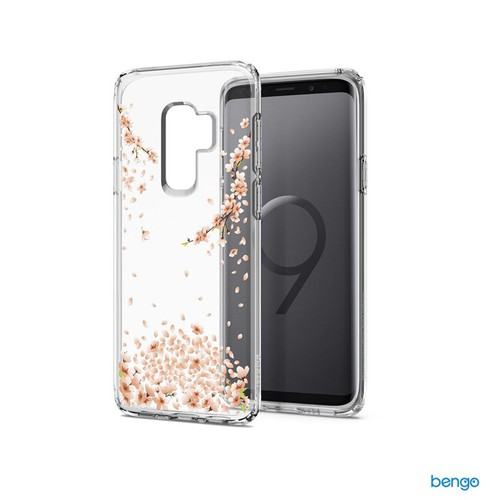 Ốp lưng Samsung Galaxy S9 Plus SPIGEN Liquid Crystal Blossom