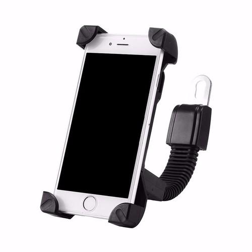 Miễn pvc giá đỡ kẹp điện thoại gắn trên xe máy-kệ-grab