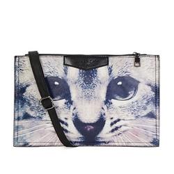 Túi đeo chéo bao thư họa tiết mèo xinh xắn