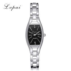 Đồng hồ nữ LvPai dây thép TRẮNG cao cấp mặt oval đặc biệt
