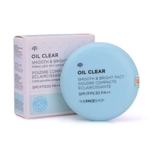 phấn kiềm dầu oil clear