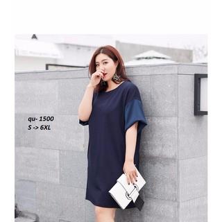 ĐẦM SUÔNG BIGSIZE CAO CẤP DRESS37QU - DRESS37QU thumbnail
