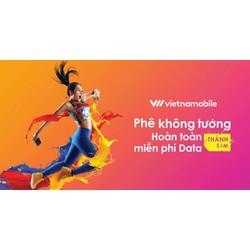 Thánh Sim Vietnamobile 10 số Tặng 120g 1 tháng giá rẻ nhất Sendo