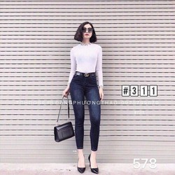 quần jeans nữ size 26 tới 29