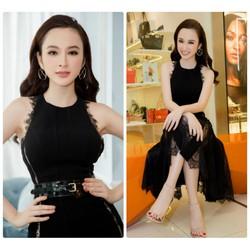 Đầm xòe phối ren Phương Trinh