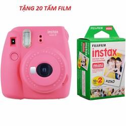 Máy chụp ảnh lấy ngay Fujifilm instax mini 9 Hàng chính hãng + 20film