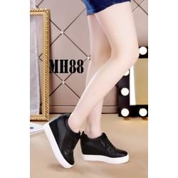 Giày nữ cao cổ ngắn sành điệu 2018