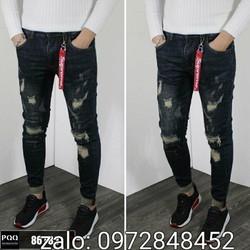Quần Jean rách mẫu mới cực hot