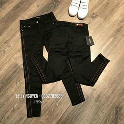 quần legging vièn sọc