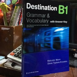 Destinatin B1 Grammar Vocabulary With Answer Key