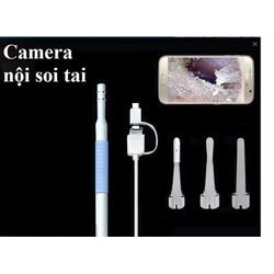 Camera nội soi tai mũi họng Tặng bộ phụ kiện lấy ráy tai