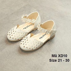 Giày sandal trắng cho bé 1 - 5 tuổi XD10