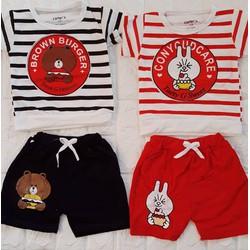 đồ bộ mùa hè cho bé trai
