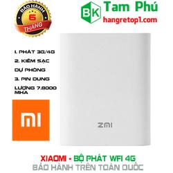 Bộ Phát Wifi 2G-3G-4G 7800mAh kèm sạc dự phòng