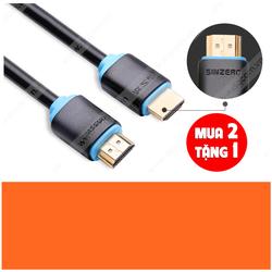 Mua 2 tặng 1 Cáp HDMI 3m 4K 30Hz full HD 3D chính hãng Sinzero
