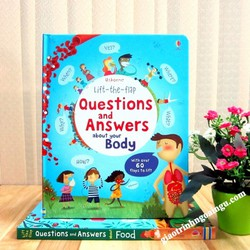Sách Usborne Lift-The-Flap Questions and Answers About Your Body