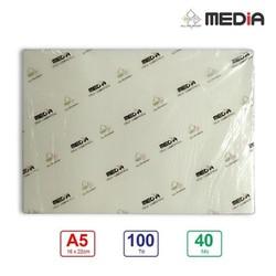 Màng Ép Plastic Media A5 40 mic 100 tờ