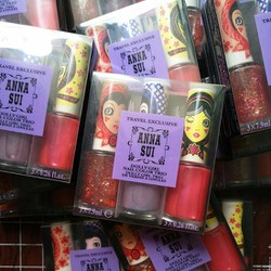 Combo sơn móng tay Anna Sui hộp 3 chai Nhật